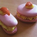 macarons-fraises